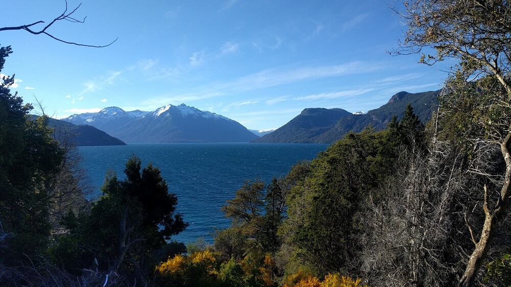 Lago Traful, Ruta de los 7 Lagos, Argentina, Noviembre 2017
